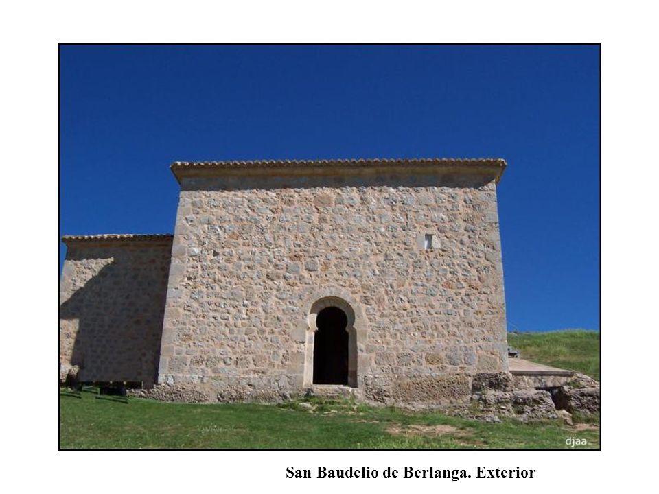 San Baudelio de Berlanga. Exterior