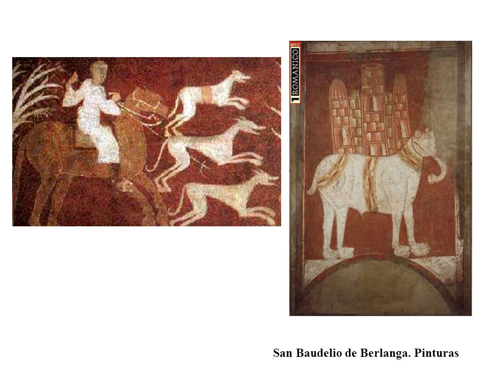 San Baudelio de Berlanga. Pinturas