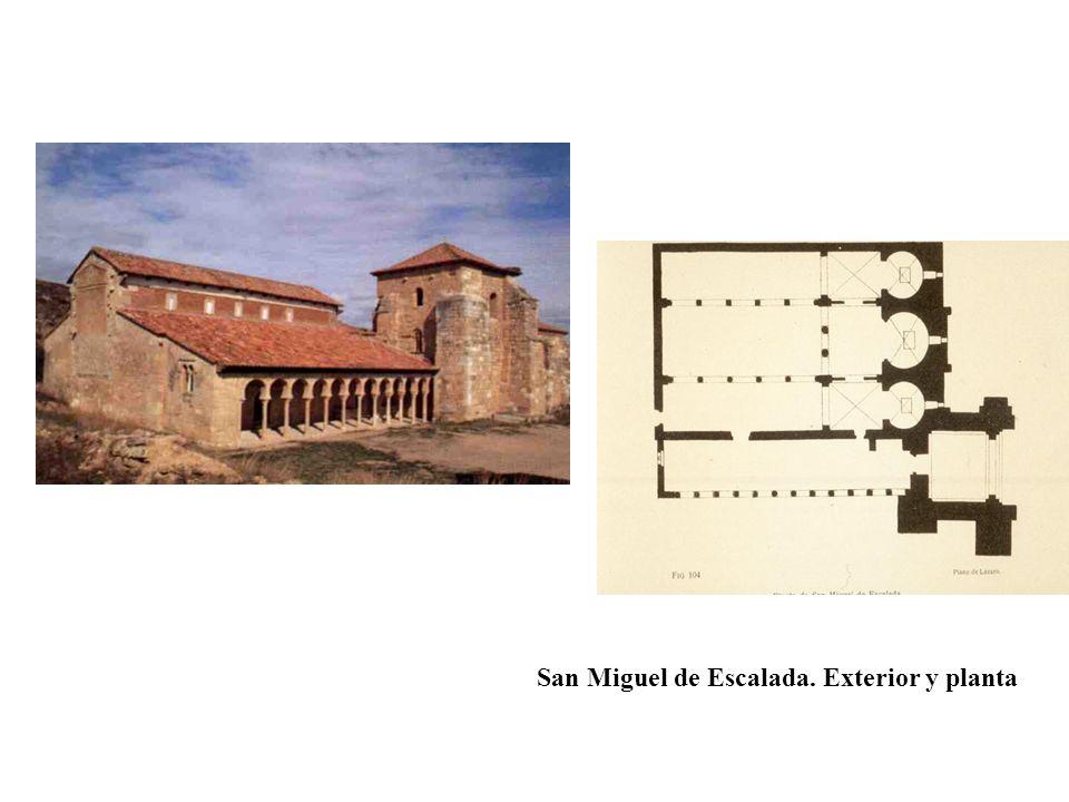 San Miguel de Escalada. Exterior y planta