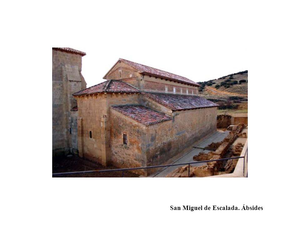 San Miguel de Escalada. Ábsides
