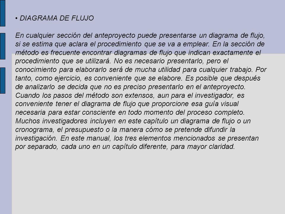 • DIAGRAMA DE FLUJO