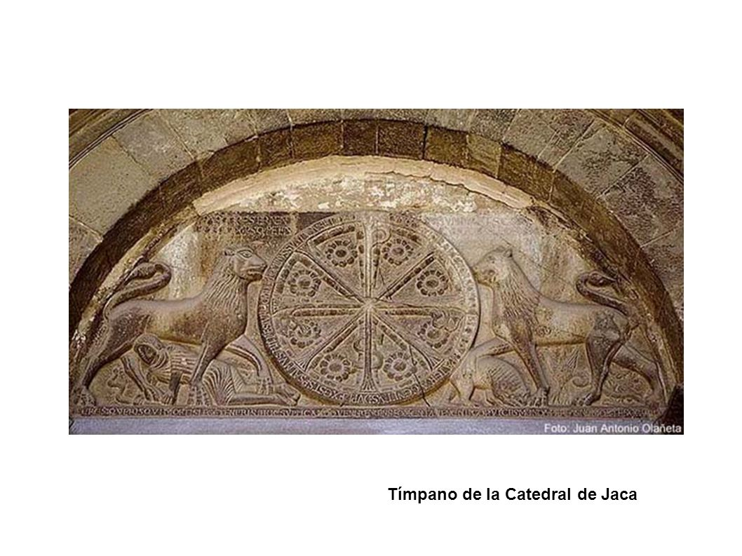 Tímpano de la Catedral de Jaca