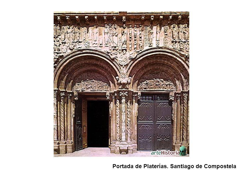 Portada de Platerías. Santiago de Compostela