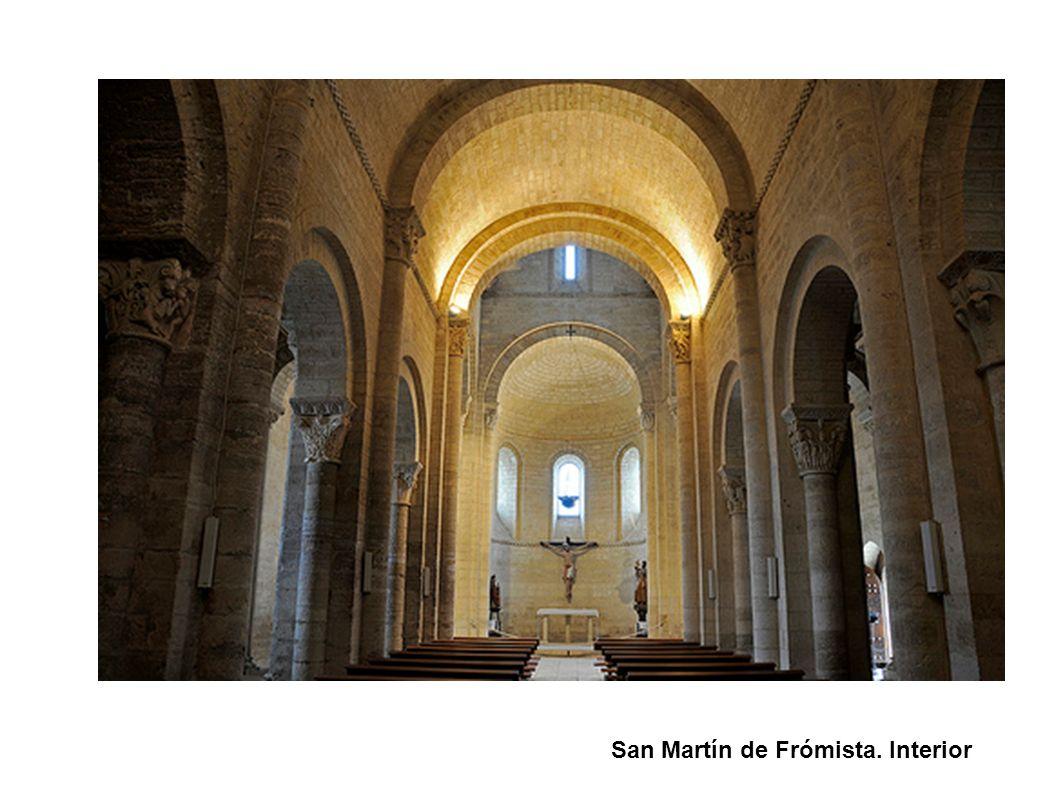 San Martín de Frómista. Interior