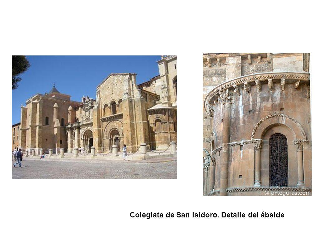 Colegiata de San Isidoro. Detalle del ábside