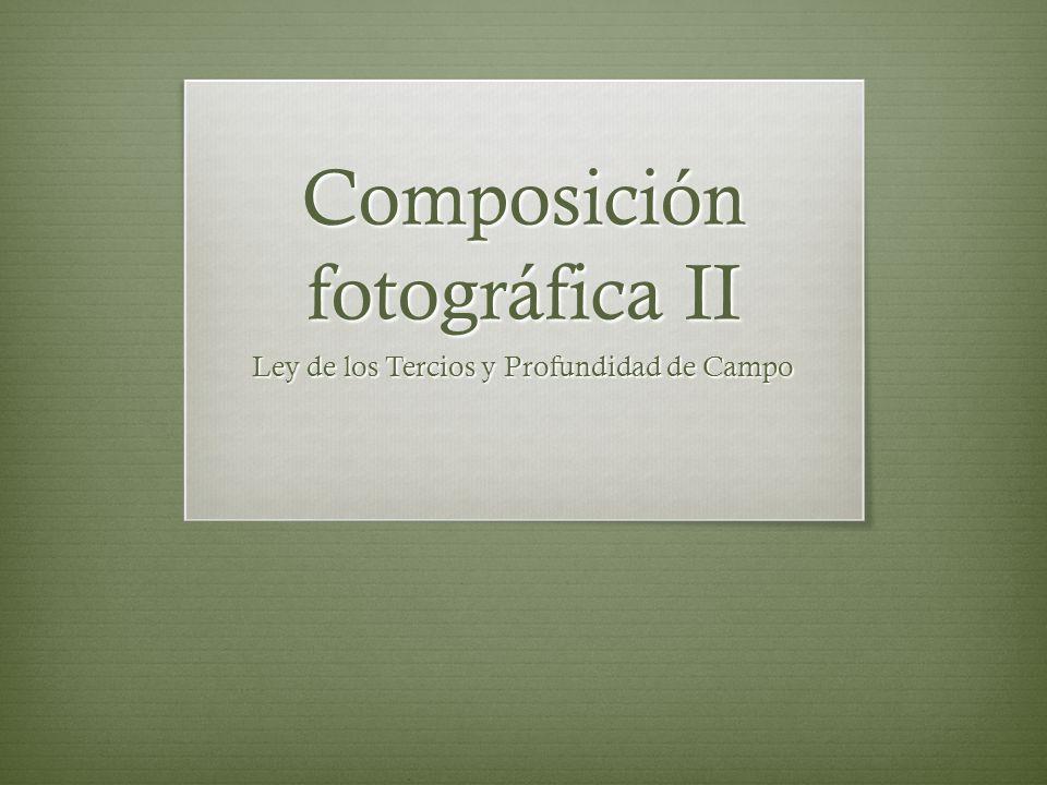 Composición fotográfica II
