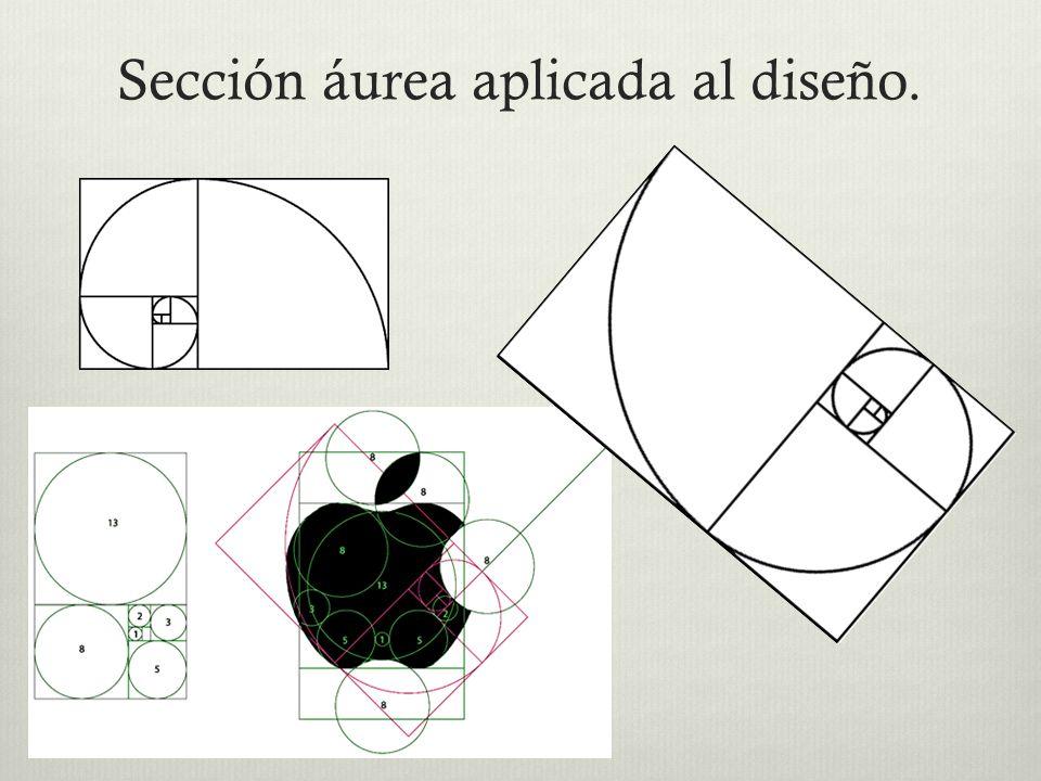 Sección áurea aplicada al diseño.