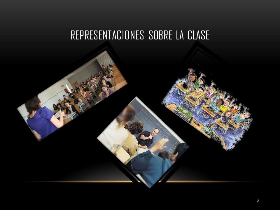 Representaciones sobre la clase