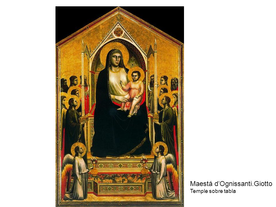 Maestá d'Ognissanti.Giotto