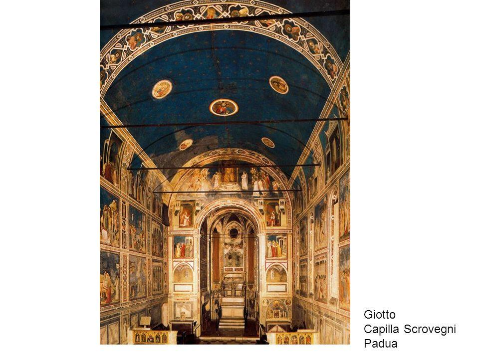 Giotto Capilla Scrovegni Padua