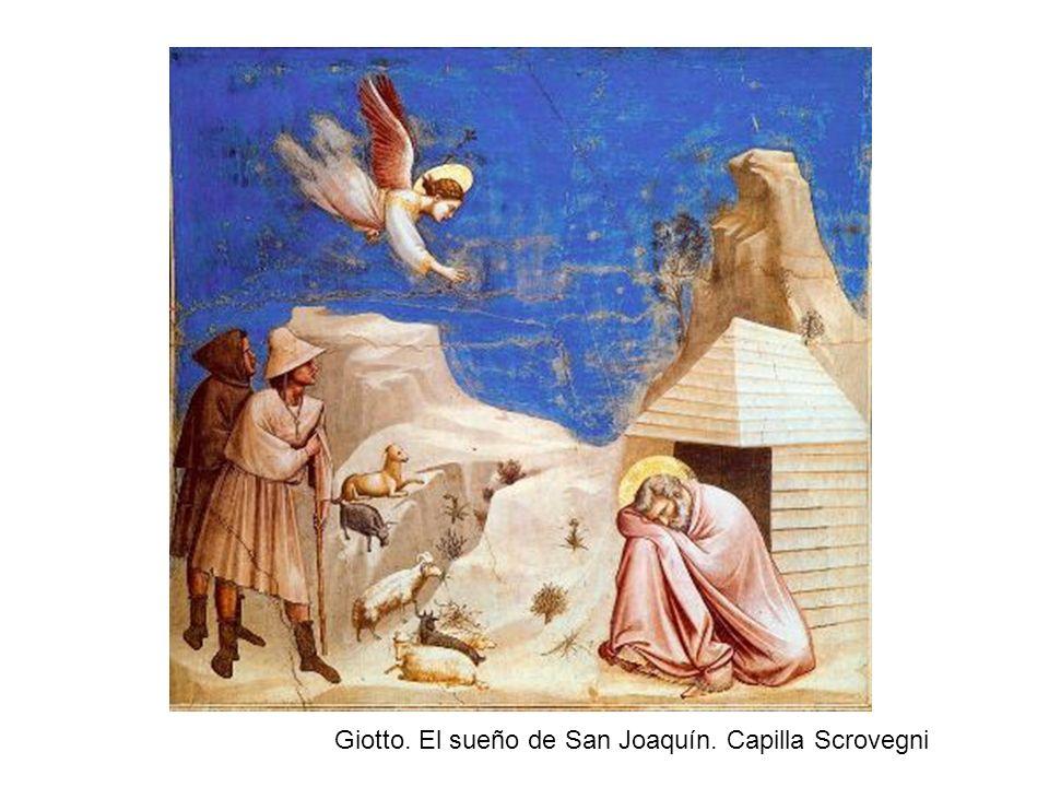 Giotto. El sueño de San Joaquín. Capilla Scrovegni