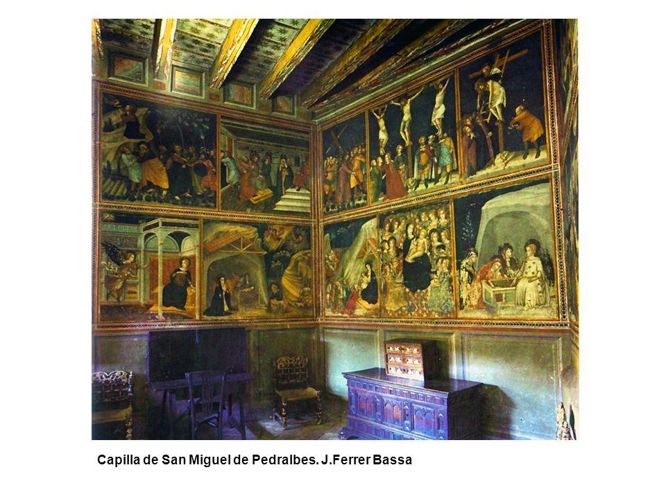 Capilla de San Miguel de Pedralbes. J.Ferrer Bassa