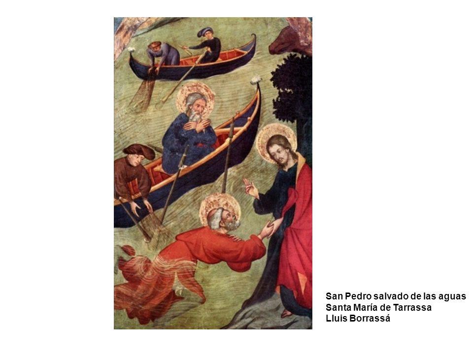 San Pedro salvado de las aguas