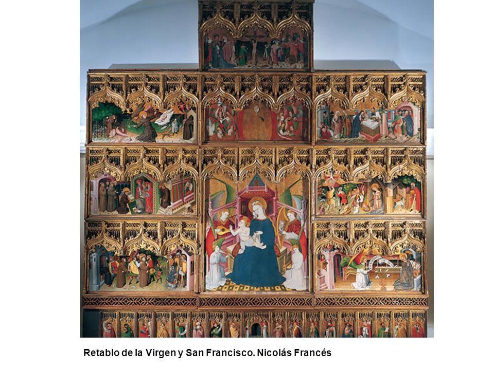 Retablo de la Virgen y San Francisco. Nicolás Francés