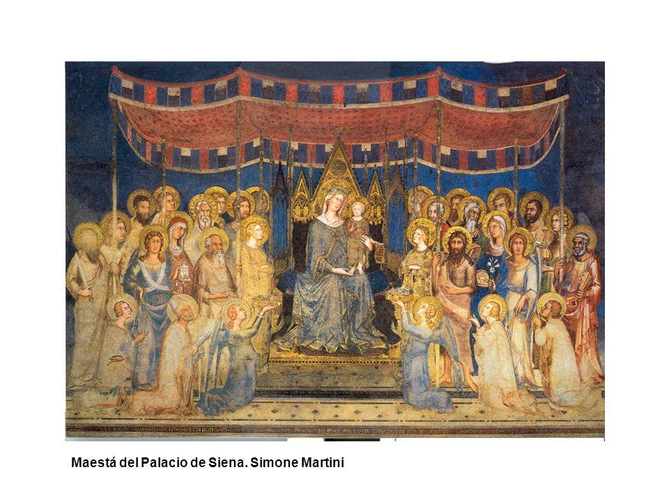 Maestá del Palacio de Siena. Simone Martini