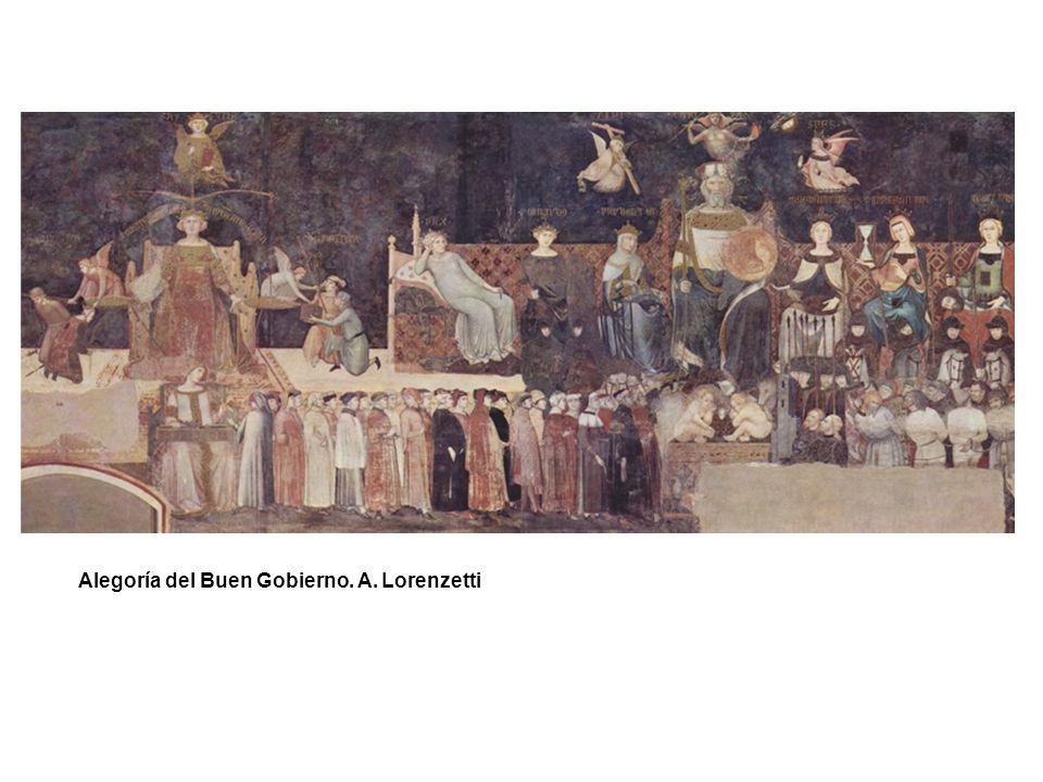Alegoría del Buen Gobierno. A. Lorenzetti