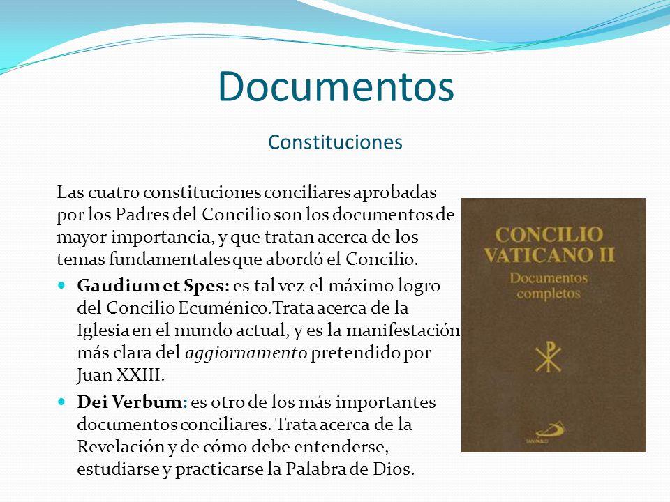 Documentos Constituciones
