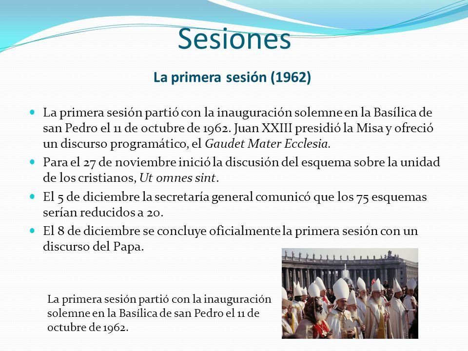 Sesiones La primera sesión (1962)