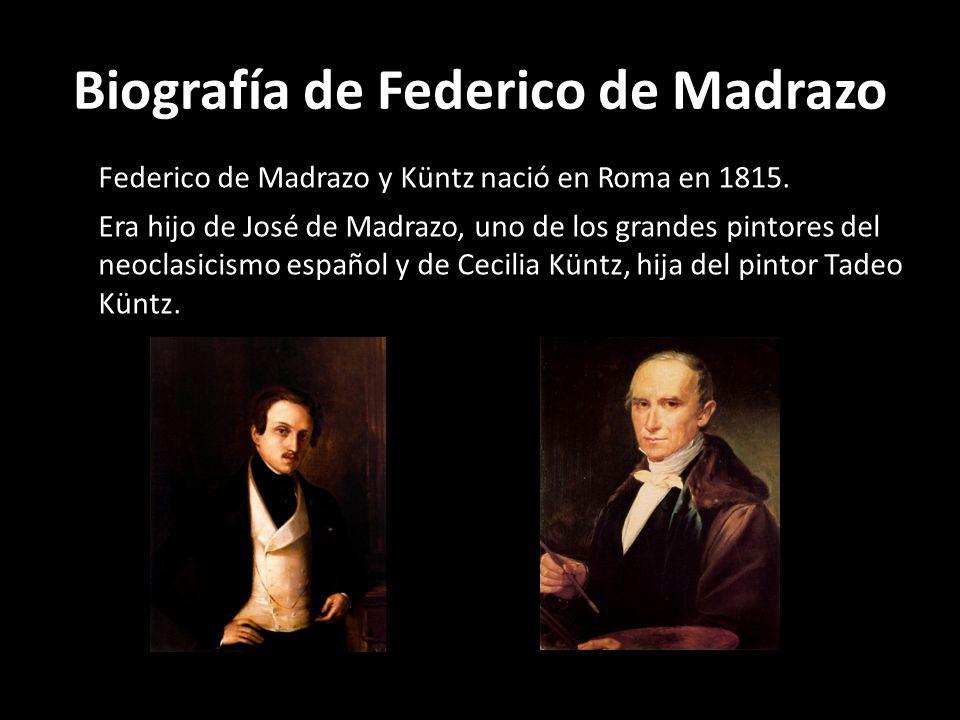 Biografía de Federico de Madrazo