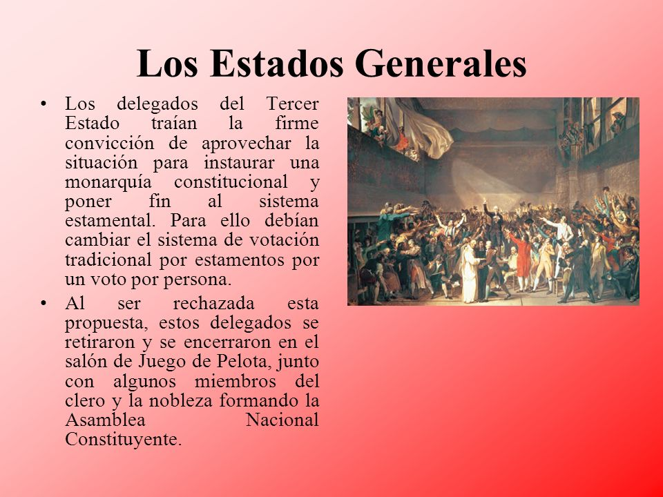 Los Estados Generales