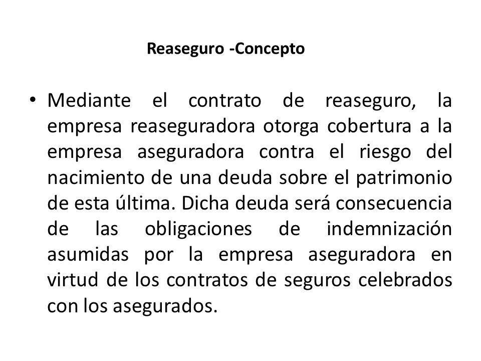 Reaseguro -Concepto