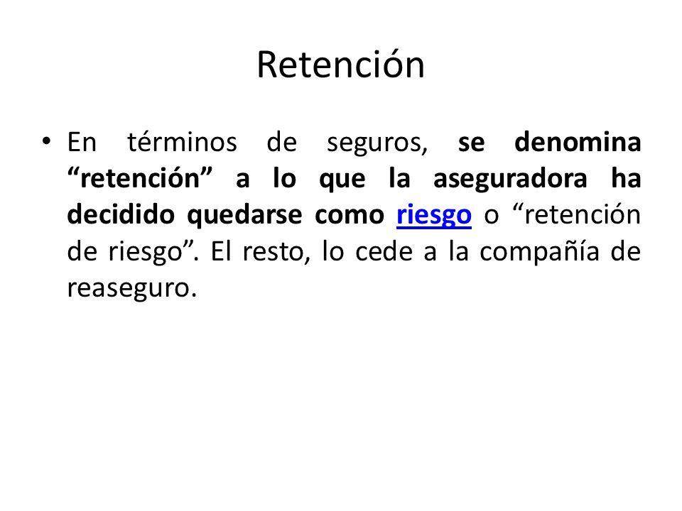 Retención