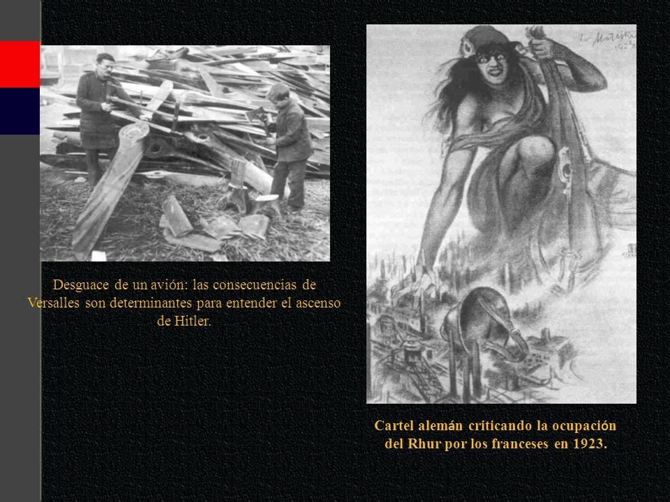 del Rhur por los franceses en 1923.