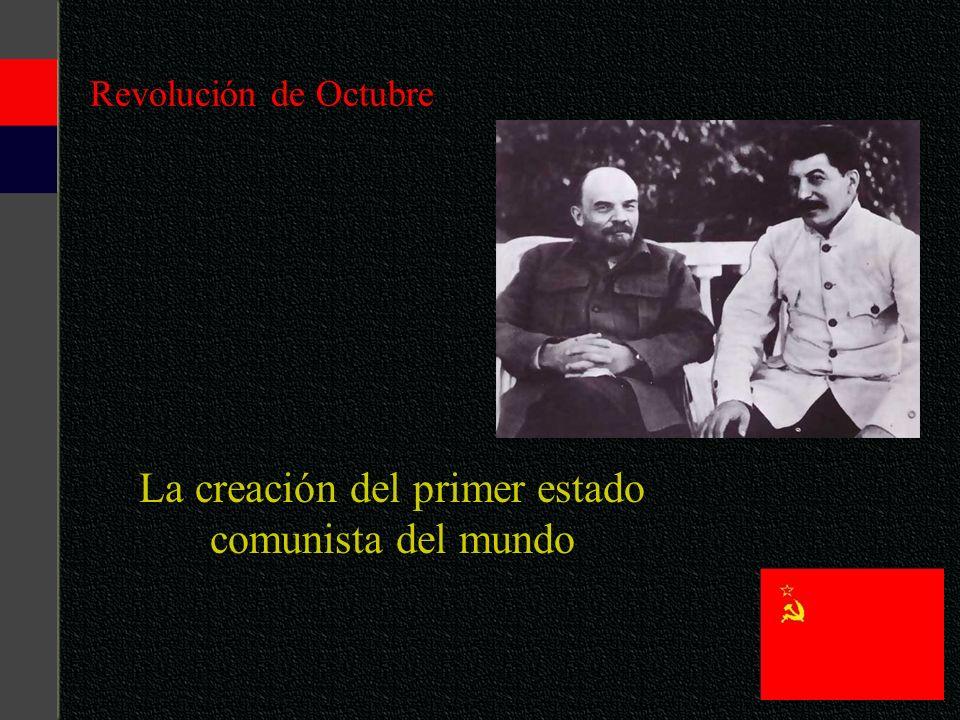 La creación del primer estado comunista del mundo