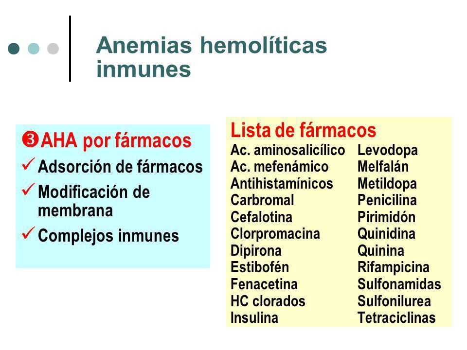 Anemias hemolíticas inmunes