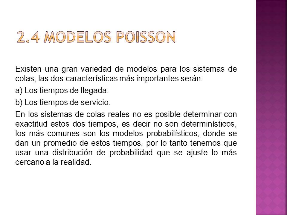 2.4 Modelos Poisson
