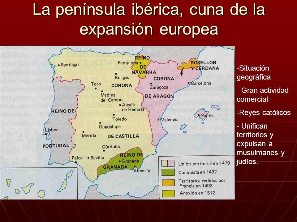 La península ibérica, cuna de la expansión europea