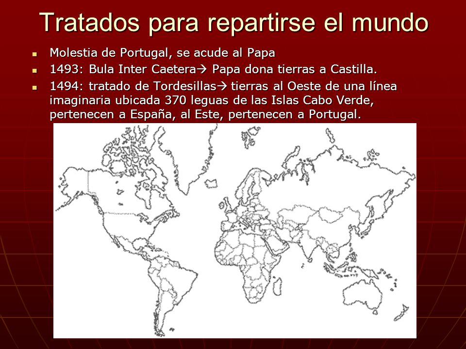 Tratados para repartirse el mundo