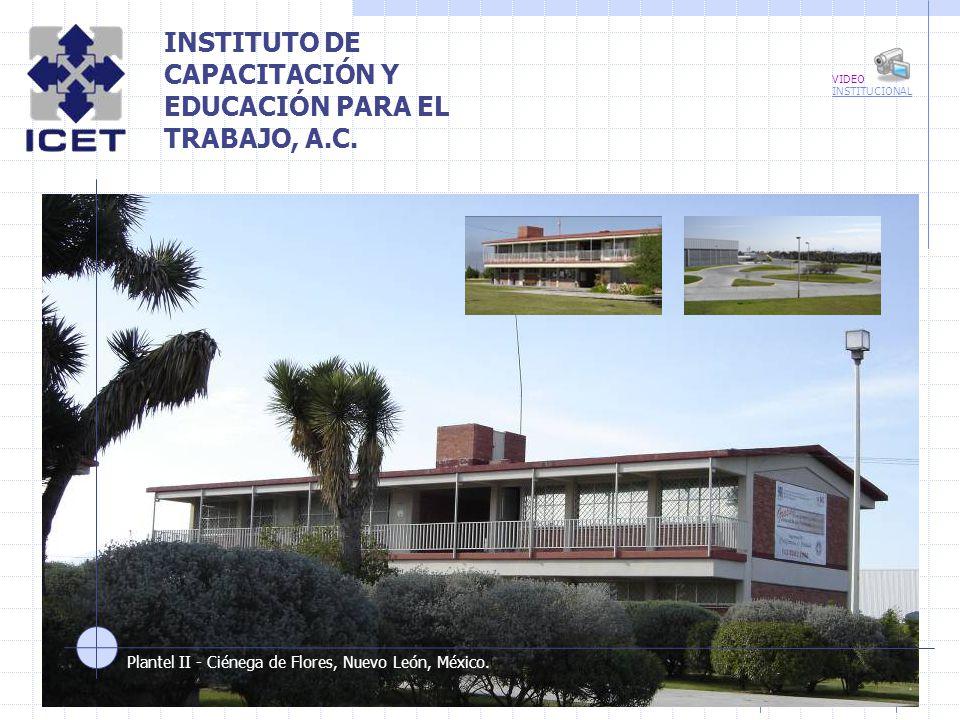 INSTITUTO DE CAPACITACIÓN Y EDUCACIÓN PARA EL TRABAJO, A.C.