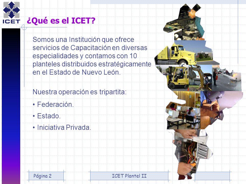 ¿Qué es el ICET