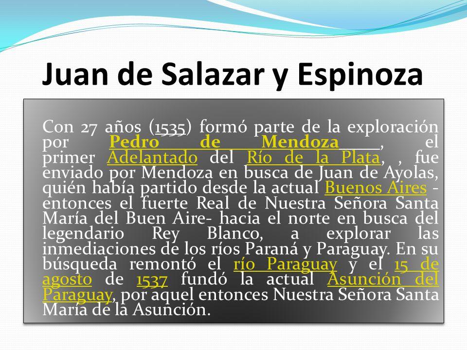 Juan de Salazar y Espinoza