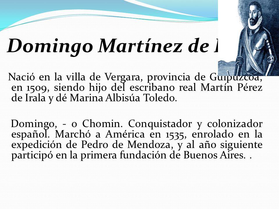Domingo Martínez de Irala