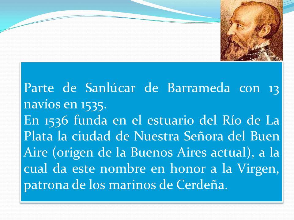 Marco Geo-Historico: Viaje de Pedro de Mendoza, causas y consecuencias