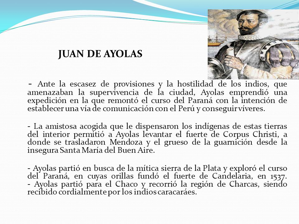 JUAN DE AYOLAS