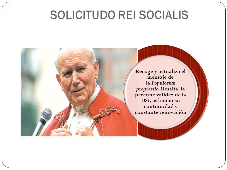 SOLICITUDO REI SOCIALIS