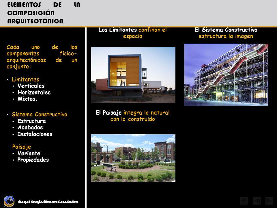 elementos de la composición Arquitectónica