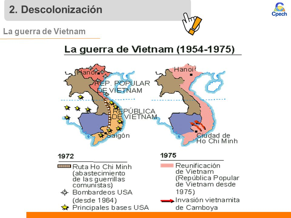 2. Descolonización La guerra de Vietnam 12 12 12
