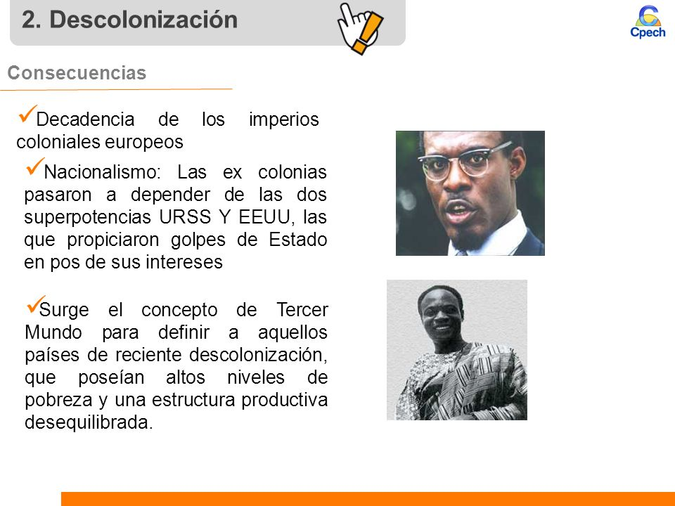 2. Descolonización Consecuencias
