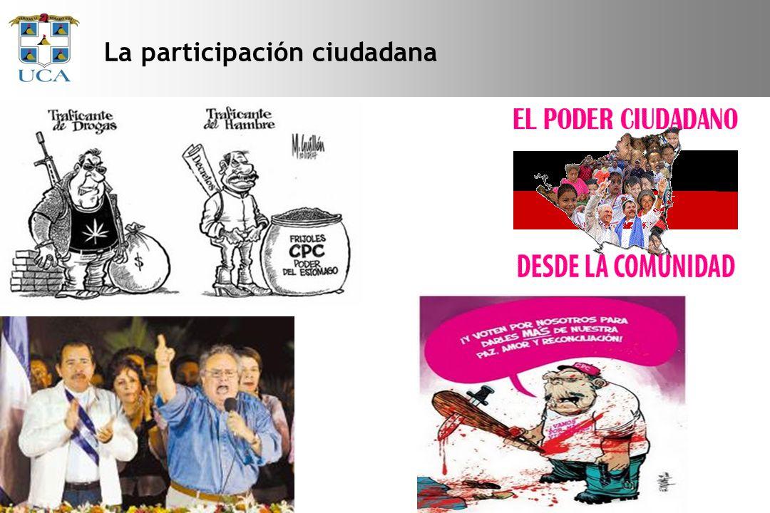 La participación ciudadana