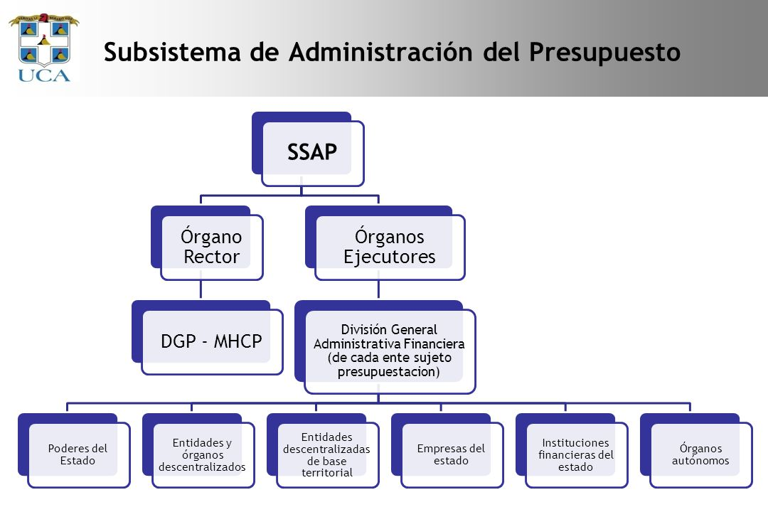Subsistema de Administración del Presupuesto