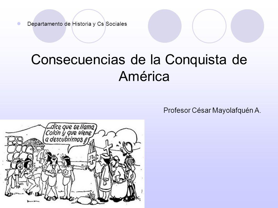 Consecuencias de la Conquista de América
