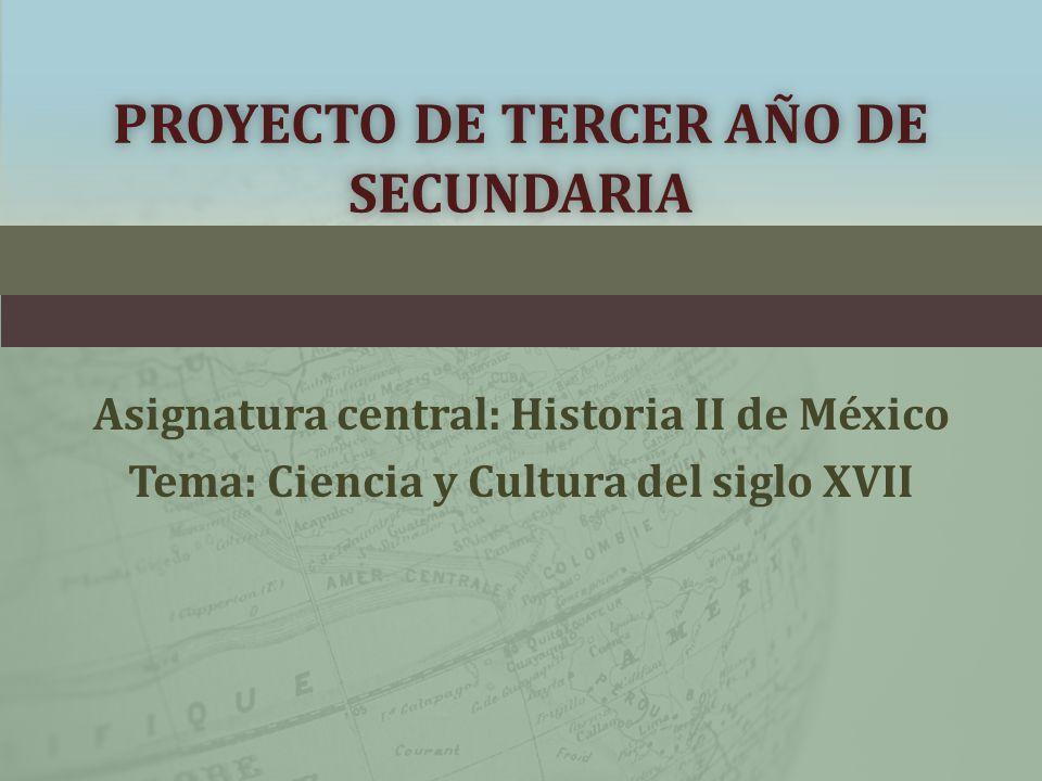 PROYECTO DE TERCER AÑO DE SECUNDARIA