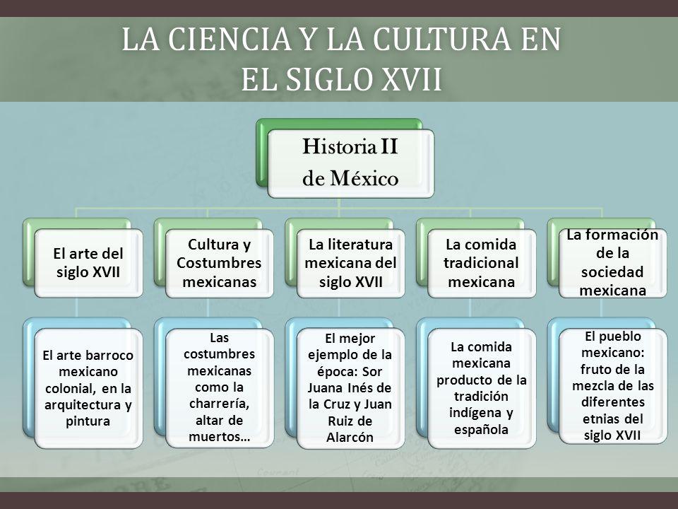 La ciencia y la cultura en el siglo XVii