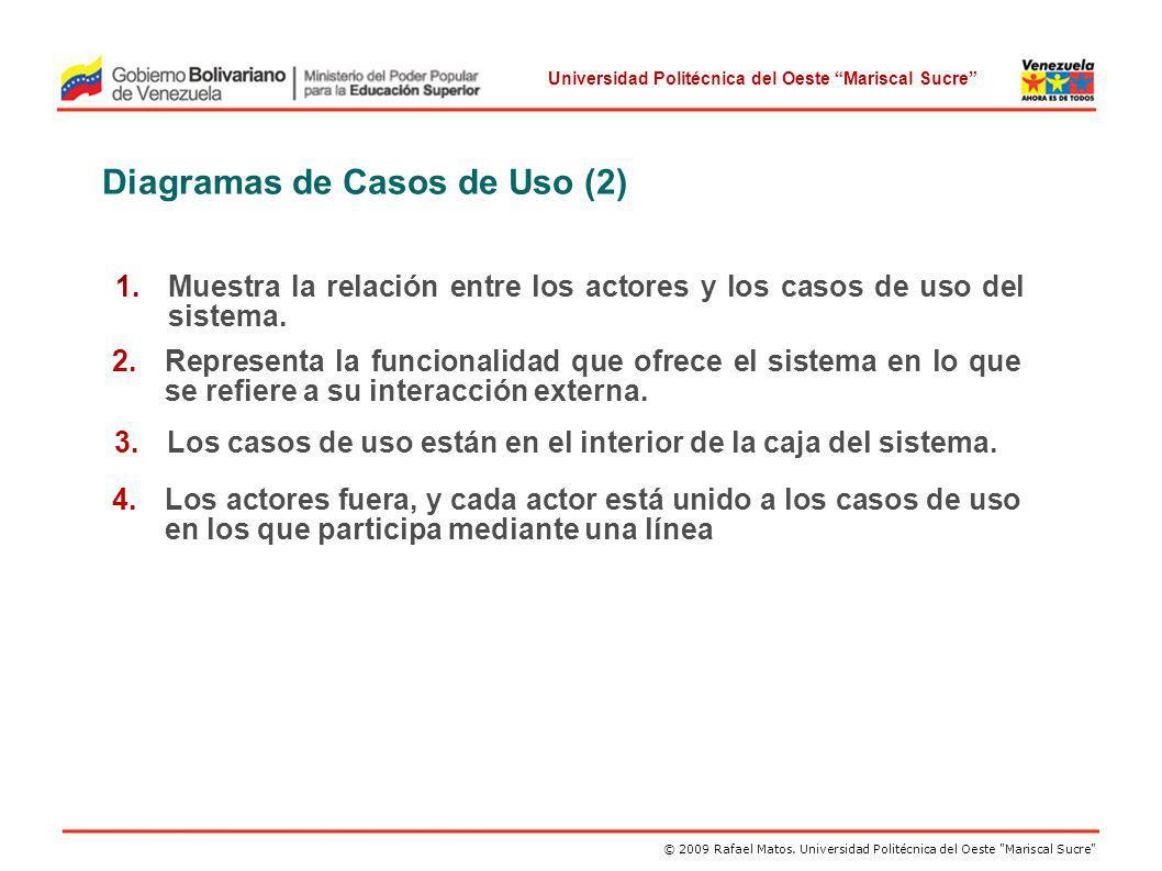 Diagramas de Casos de Uso (2)