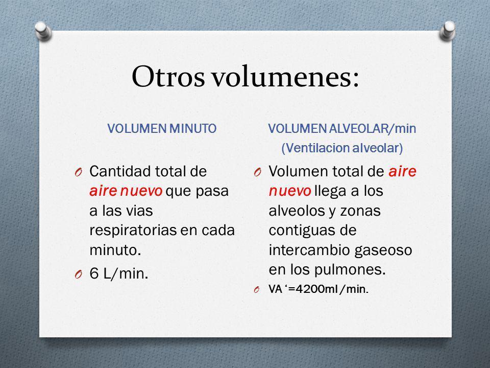 (Ventilacion alveolar)