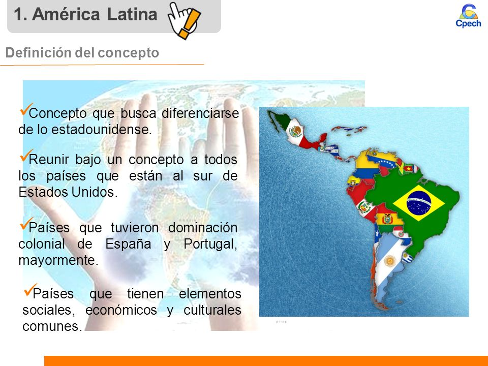 1. América Latina Definición del concepto